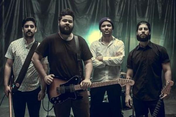 Banda Zimbra se apresenta em Brasília antes de show no Rock in Rio  (Guilherme Fernandez/Divulgação)