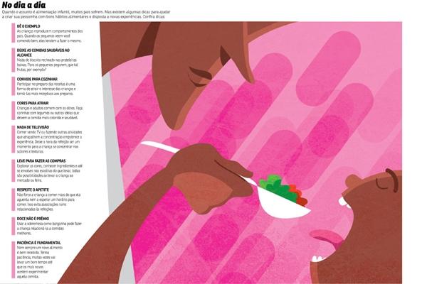Dicas para ajudar os pais a criarem bons hábitos alimentares nas crianças (CB/D.A Press)