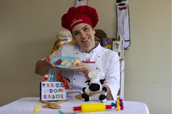 Alessandra Brant apresenta receitas que atendem adultos e crianças (Vinny C./CB/D.A Press)