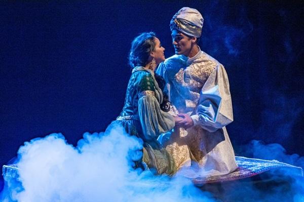 'Aladdin, o musical' será apresentado em Brasília neste sábado e domingo  (Renato Peixoto/Divulgação)