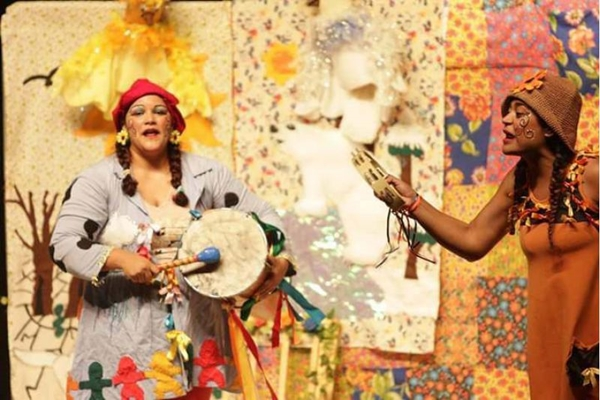 'Margarida e o Sabiá encantado': um espetáculo colorido, sonoro e cheiroso (oel Rodrigues/Divulgação)