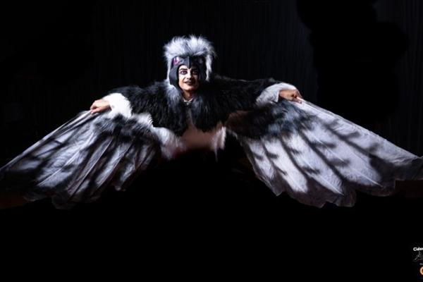 O espetáculo 'Cidade Avião' é o primeiro infantil da companhia de comédia G7 (Kazuo Okubo/Divulgação)