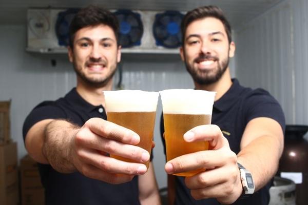Os sócios da marca investiram em bebidas de boa qualidade e chope acessível (Ana Rayssa/CB/D.A Press)