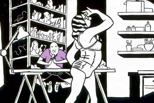 Laerte é artista que impulsiona toda a nova obra de Otto Guerra  (Lança Filmes/Divulgação)