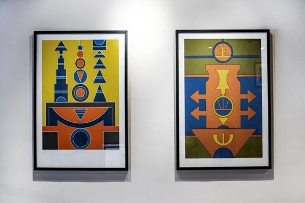 Importante artista brasileiro, Rubem Valentim morou em Brasília e deu aulas na Universidade de Brasília (UnB) (Joana Eichler/Divulgação)