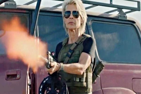 A saga 'O exterminador do futuro' chega aos cinemas estrelando Linda Hamilton   (Fox Film/Divulgação)
