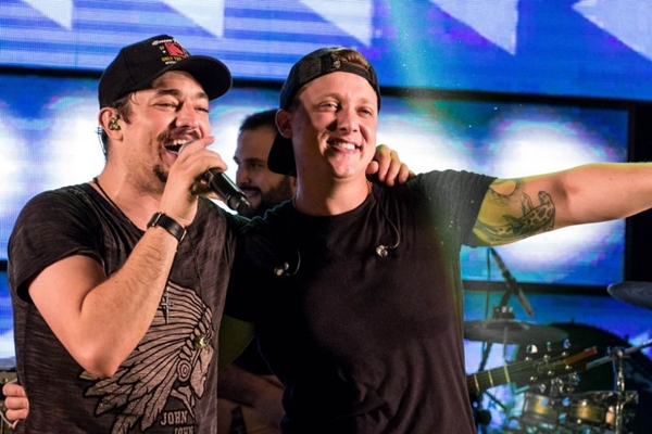 Os irmãos George Henrique & Rodrigo vão embalar os fãs na boate Bamboa (Claudio Oliveira/Divulgação)