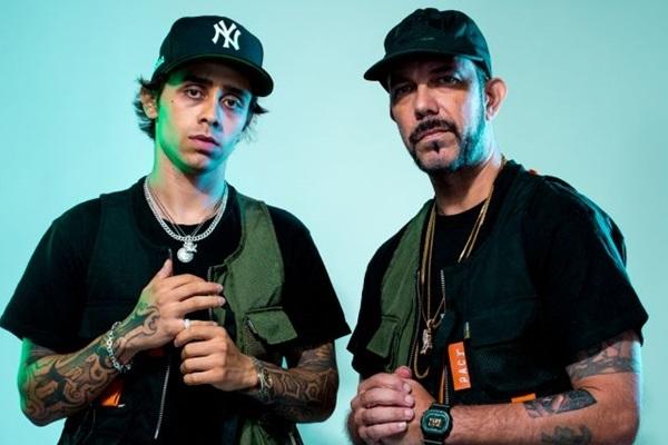 O duo Tropkillaz é uma das atrações da festa de abertura do Pavilhão Luz (Influenza Produções/Divulgação)