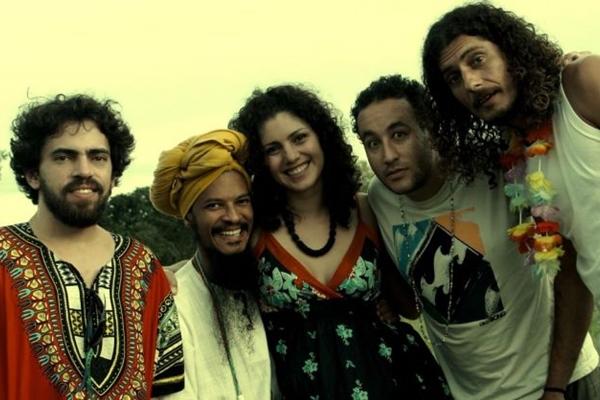 Grupo brasiliense Praga de Baiano (Murilo Timo/Divulgação)