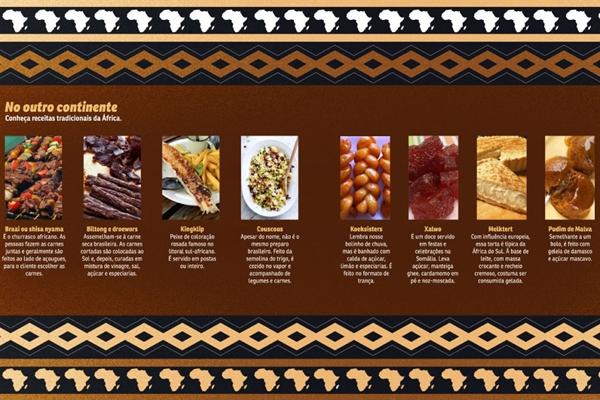 Conheça receitas tradicionais da África (CB/D.A Press)