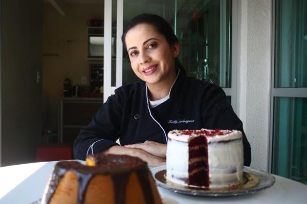 Kelly oferece cursos voltados à gastronomia caseira  (Ana Rayssa/CB/D.A Press)