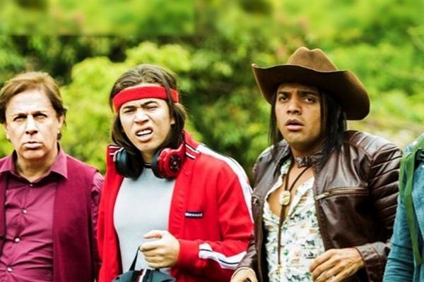 O filme brasileiro 'Os parças 2' conta com um elenco recheado de humoristas em atuação (Paris Filmes/Divulgação)