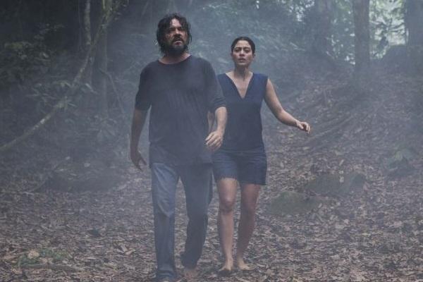 'O juízo': atmosfera carregada para o longa estrelado por Felipe Camargo e Carol Castro  (Dan Behr/Divulgação)