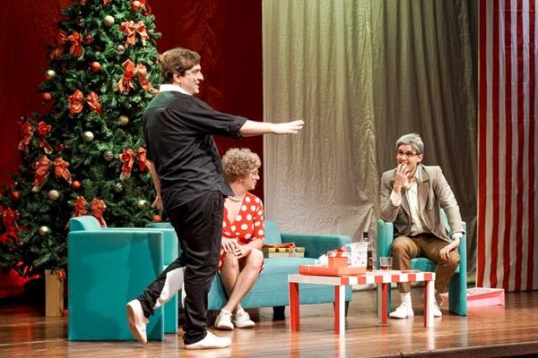 Em homenagem às festividades de fim de ano, o grupo de comédia G7 apresenta a peça 'Lembraram de Mim %u2014 A Comédia do Natal' (G7/Divulgação)