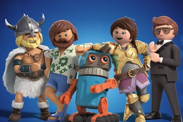 Os brinquedos ganham vida em 'Playmobil'  (Paris Filmes/Divulgação)