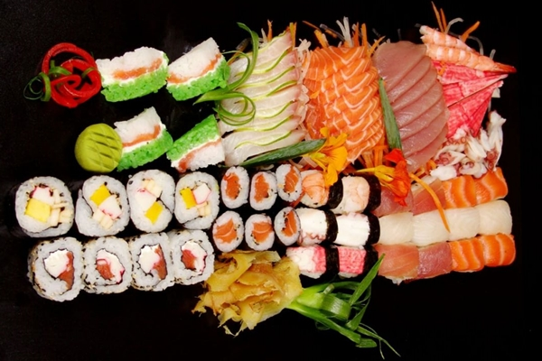 No Haná Restaurante Japonês, o réveillon ganha ares e contornos orientais (Haná Restaurante Japonês/Divulgação)