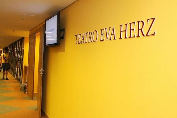Domingo é dia de teatro é um projeto com a intenção de dar ao público mais opções de peças infantis e  ocorre todo domingo no Teatro Eva Herz   (Domingo é dia de teatro é um projeto com a intenção de dar mais opções de peças infantis na cidade  Cláudia Fonseca/Divulgação)