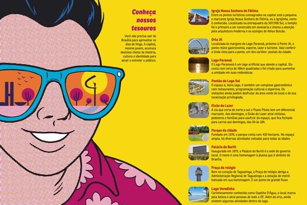 Conheça alguns dos pontos turísticos da capital federal! (CB/D.A Press)