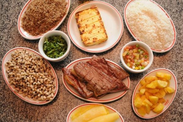 O sabor da culinária nordestina inclui todos os ingredientes tradicionais (Kléber Lima/CB/D.A Press)