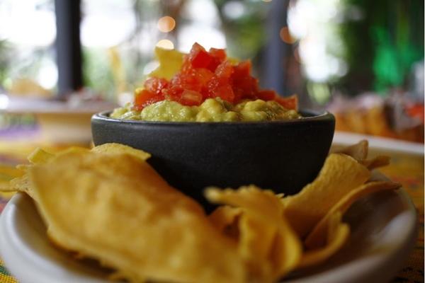 A guacamole é à base de abacate, uma das frutas desta estação (Ana Rayssa/Esp. CB/D.A Press)