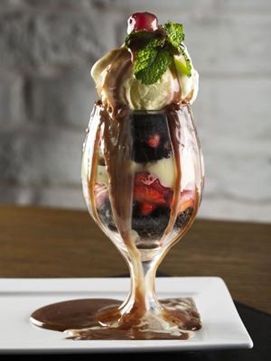 A cada dois pratos de proteína, o cliente ganha uma Taça Blend Sweet (Rafael Lobo/Divulgação)