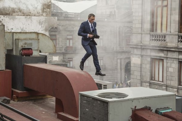 O último lançamento de 007 foi em 2015 (Jonathan Olley/Pictures Columbia )