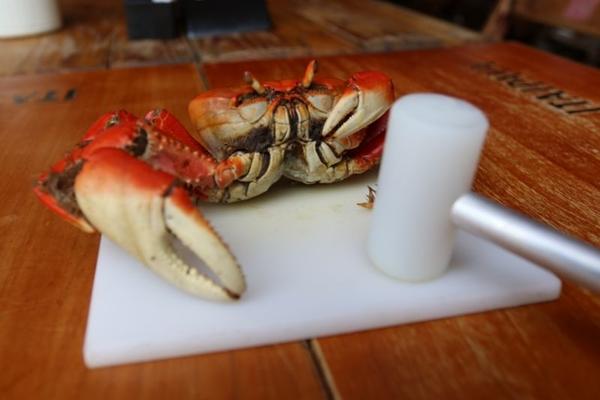 A caranguejada às quintas-feiras é uma tradição no Ceará Carne de Sol  (Arthur Menescal/Esp. CB/D.A Press)