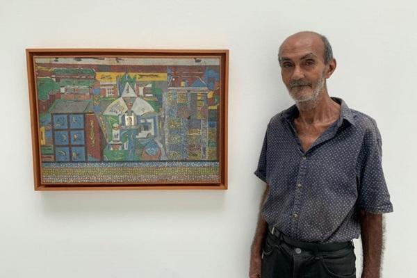 Autodidata e andarilho, o baiano Aurelino dos Santos tem a arte como expressão da sua lucidez (Thais Darzé/Divulgação)