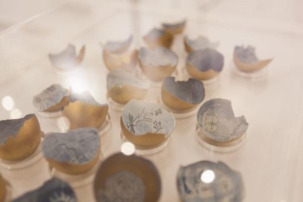 Cidade Azul, de Bete Coutinho, em exposição no Espaço f/508 de Cultura  (Bete Coutinho/Divulgação.)