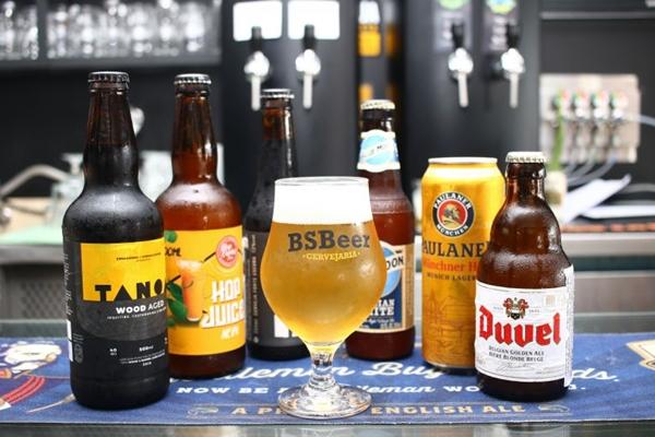 O BSBeer é um dos points dos amantes das cervejas artesanais (Ana Rayssa/CB/D.A Press )