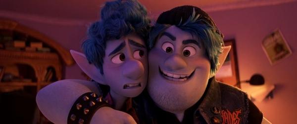 O filme tem os protagonistas dublados por Tom Holland e Chris Pratt em sua versão original (Disney/Divulgação)