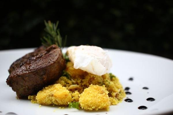 O filé marinado é uma das opções com carne vermelha na casa (Ana Rayssa/CB/D.A Press)