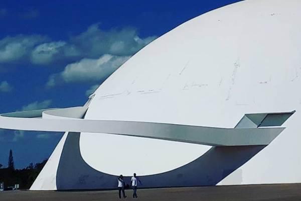 O Museu Nacional da República ficará fechado durante os cinco dias (Antonio Cunha/CB/D.A Press)