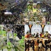 Imperatriz, Portela e Tijuca se destacam nos desfiles no Rio - (REUTERS)